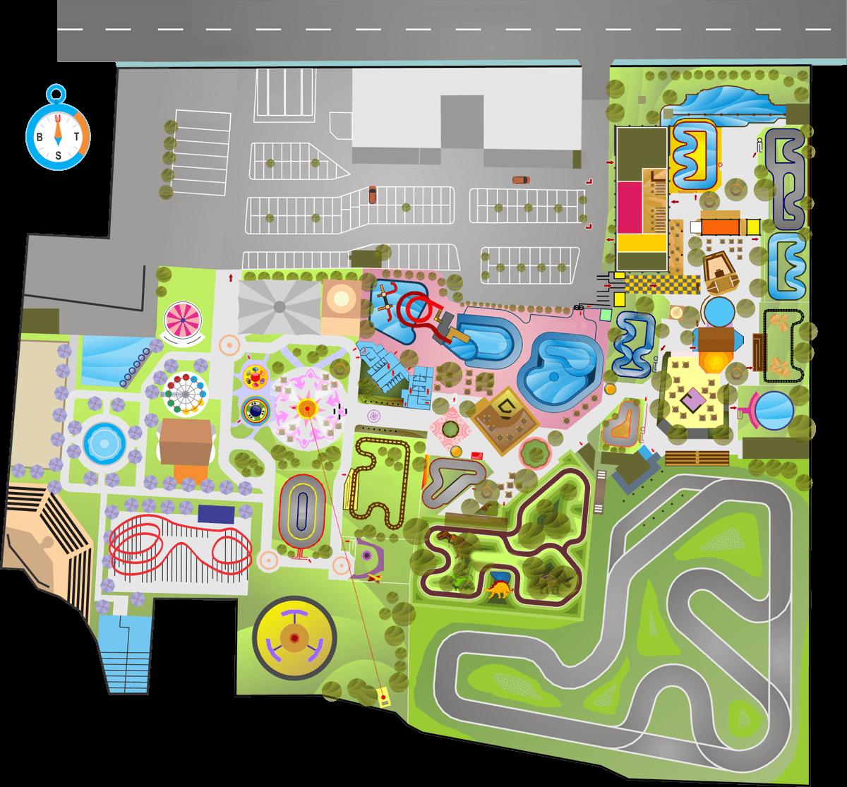 kidsfun-map